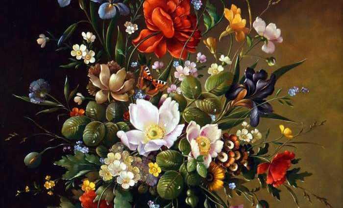 Цветочные натюрморты. Florian Grass 1