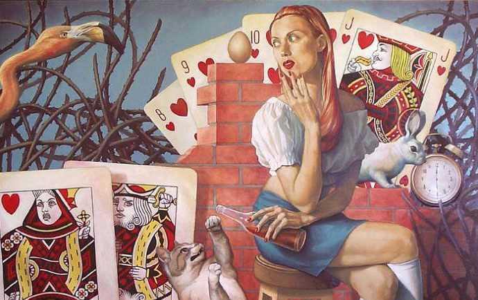Испанский художник. Fran Recacha 11