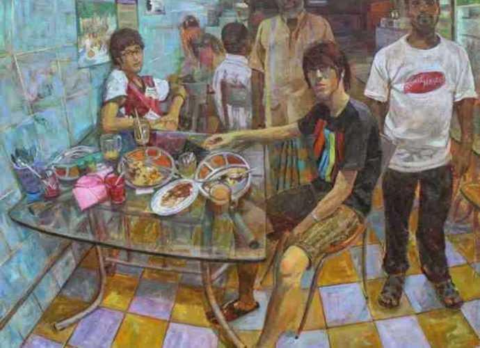 Малайзийский художник. Gan Chin Lee 56