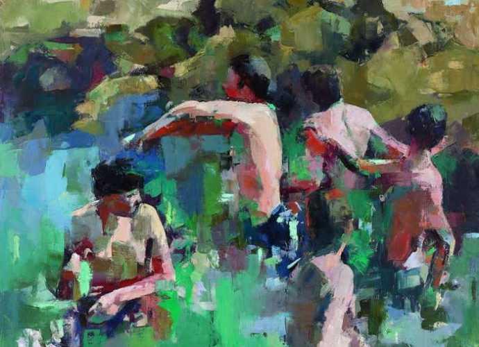 Израильская художница. Hanna Doukhan 71