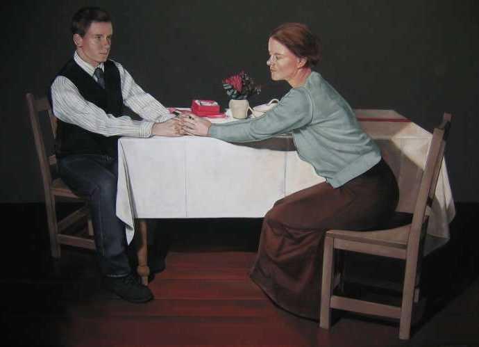 Ирландский художник. Hanneke Benade 73