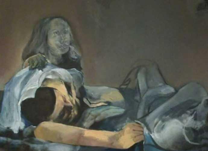 Израильский художник. Hillah Nevo 69
