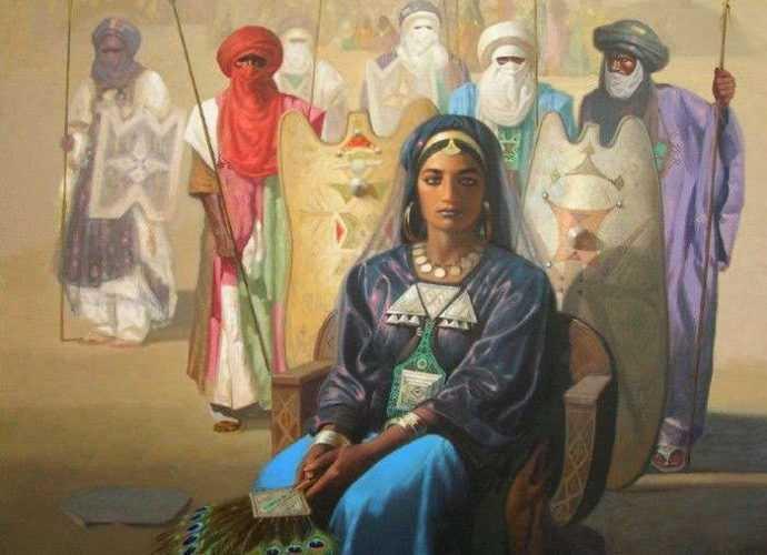Алжирский художник. Hocine Ziani 9