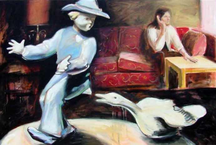 Канадский художник. Ian McLean 116