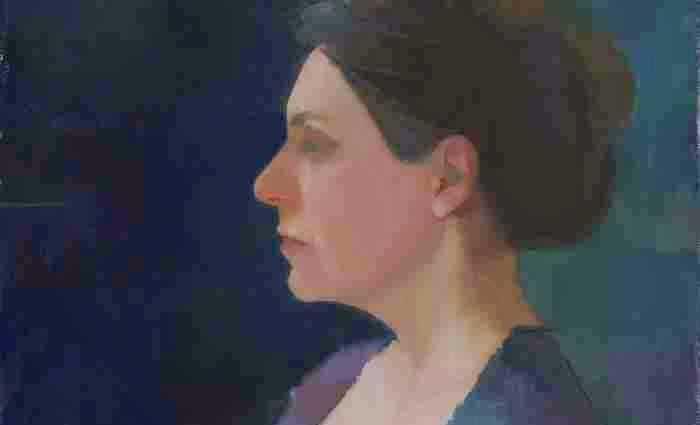 Современная итальянская художница. Ilaria Rosselli Del Turco 1