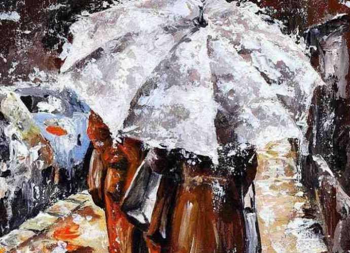 Венгерский художник. Imre Toth (Emerico) 72