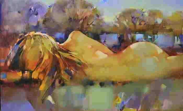 Женщина-цветок. Инна Цукахина 1