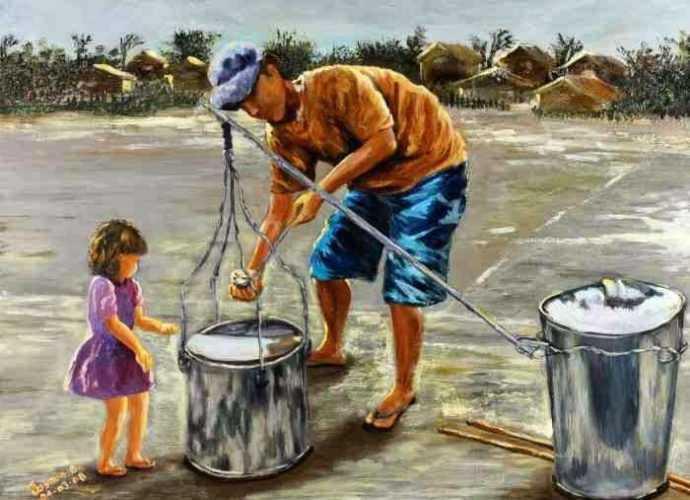 Филиппинская художница. Jasmin Alberto Orosa 134