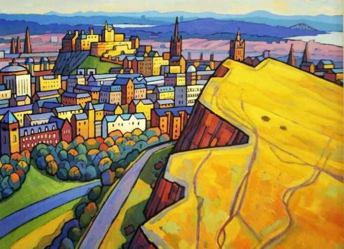 Городские пейзажи. Jim Edwards 48