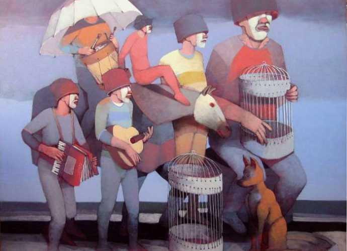 Костариканский художник. Jorge Crespo Berdecio 5