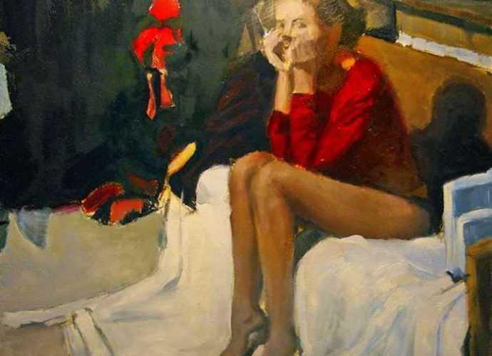 Литовский художник. Justinas Krasuckas 63