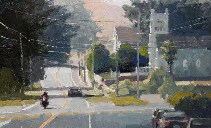 Американский художник. Ken Auster 1
