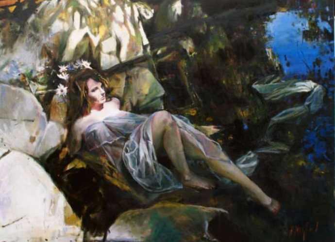 Тёплая романтическая красота. Kristian Mumford 239