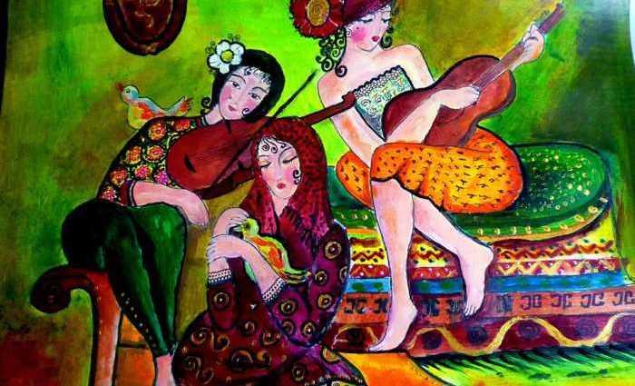 Грузинская художница. Maia Kvelidze 1