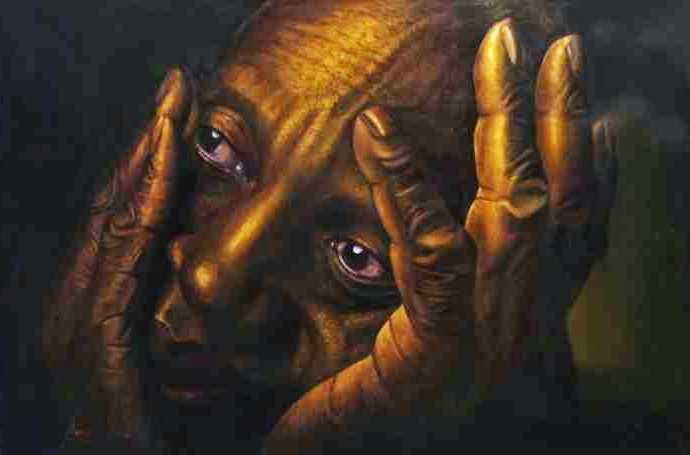 Современный бразильский художник. Marcos Damascena 408