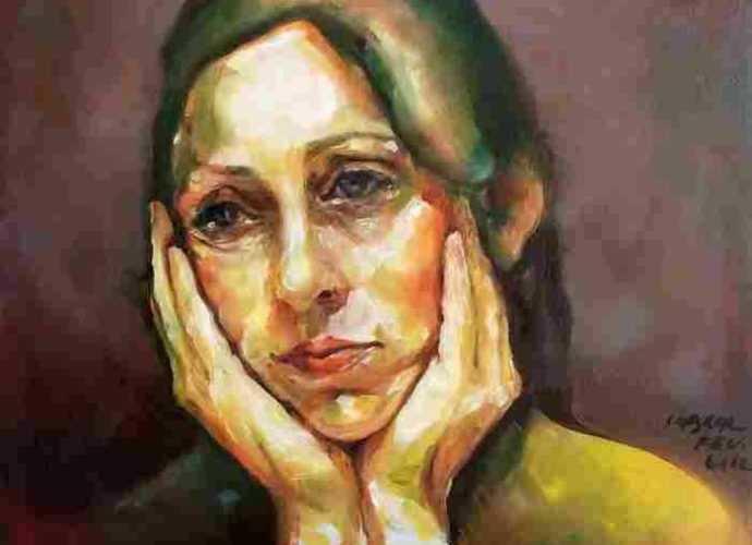 Португальская художница. Maria Teresa Crawford Cabral 63