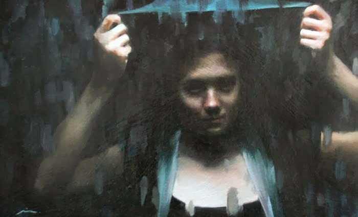Современная американская художница. Mia Bergeron 1