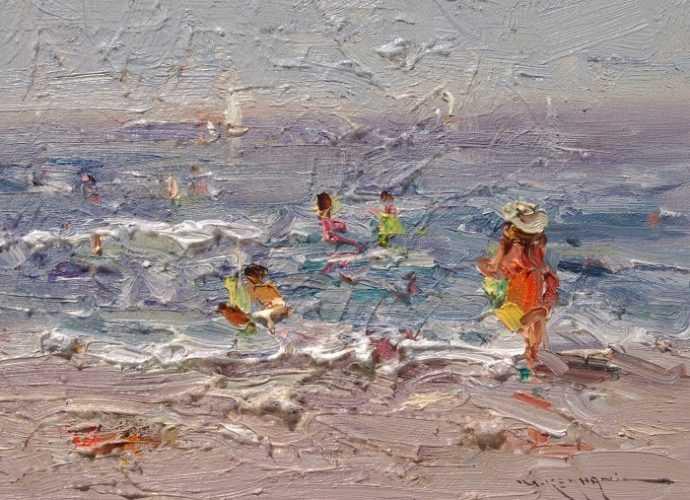 Иранский художник. Mostafa Keyhani 65