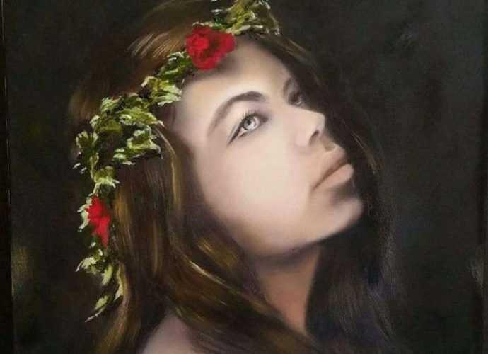 Турецкий художник. Nersel zur Muehlen 162