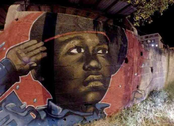 Уличный художник. Nuxuno Xan (street art) 322
