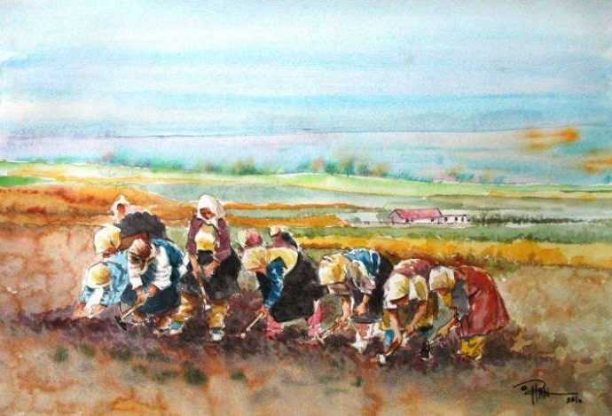 Турецкий художник. Orhan Gurel 156