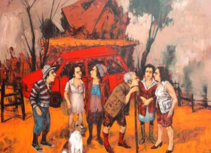 Турецкий художник. Orhan Umut 144