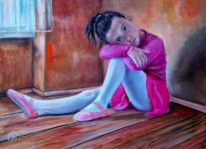 Современный венгерский художник. Osi 68