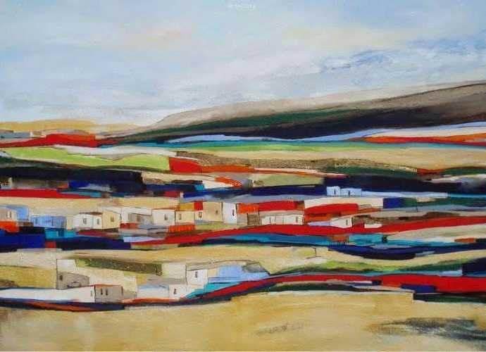 Современная чилийская художница. Paulina Beyer 84