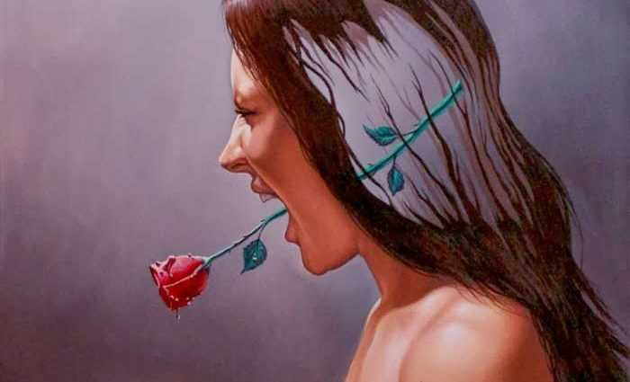 The Dragonfly and the rose. Eduardo Urbano Merino 1