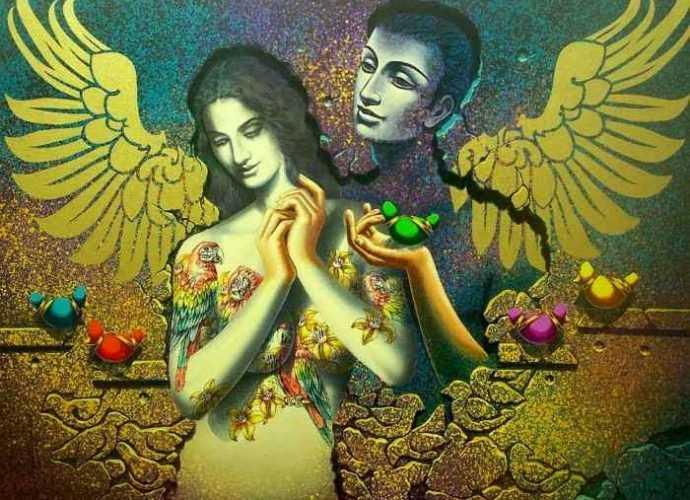 Индийский художник. Prashanta Nayak 181