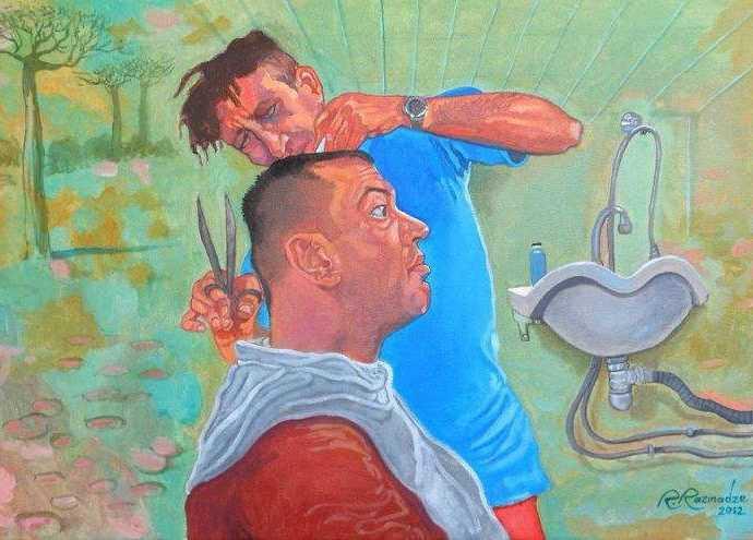 Сюрреалистические картины. Ramaz Razmadze 8