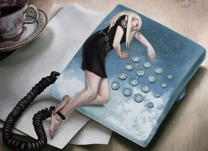 Художница-сюрреалист. Лиза Рэй 3
