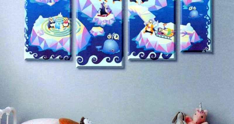Как выбрать картину для детской комнаты 1