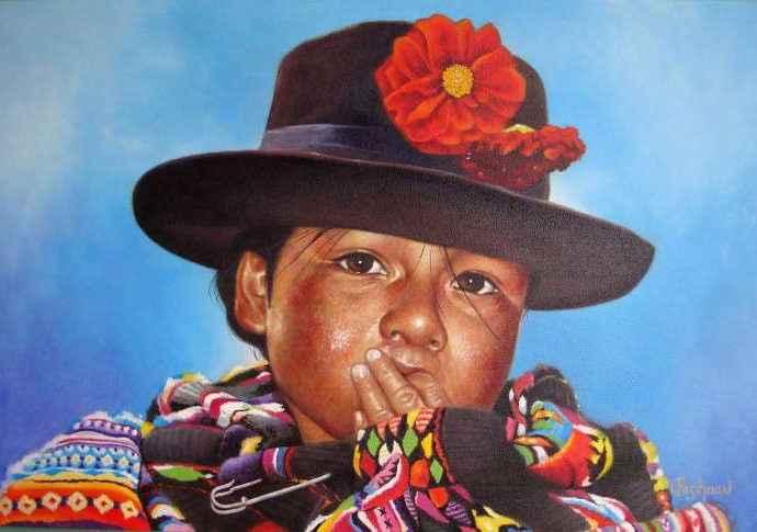 Luis Pasihuan Tenorio. Современные художники Перу 99