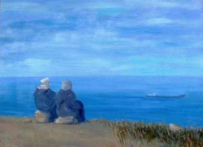 Марокканский художник. Abdellatif Zeraidi 1