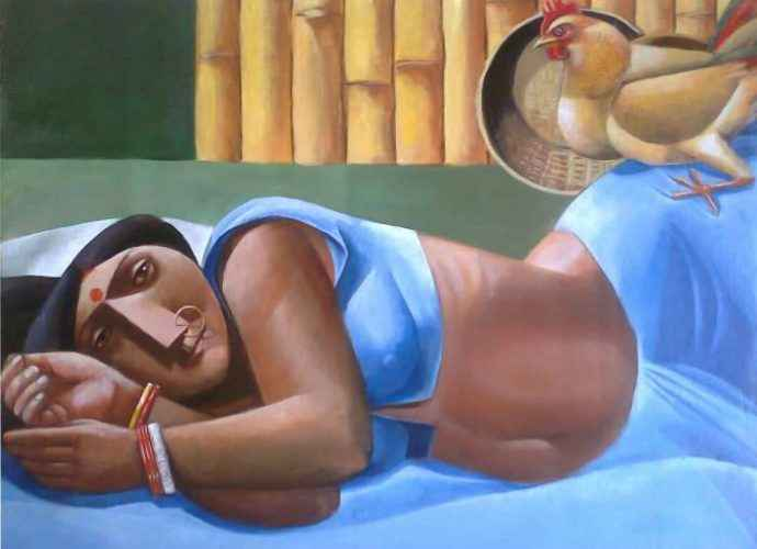 Индийский художник. Albert Ashok 219