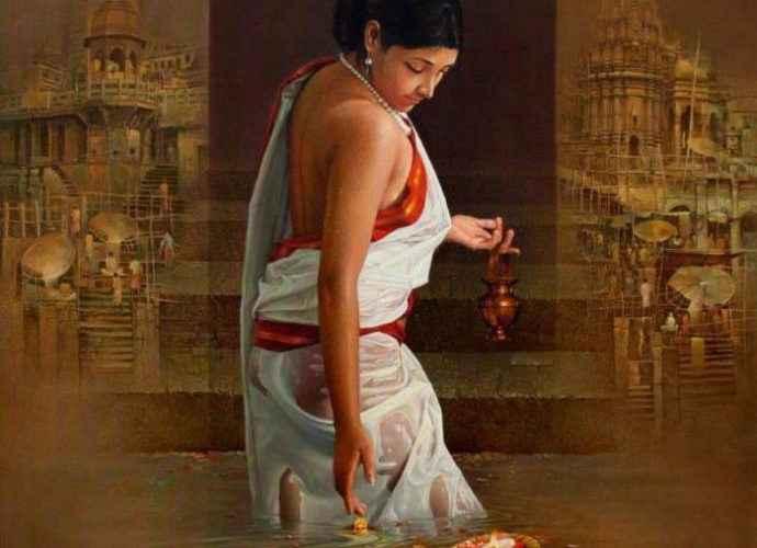 Индийский художник. Amit Bhar 213