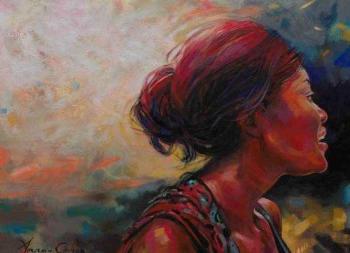 Южноафриканский художник. Anna-Carien Goosen 43