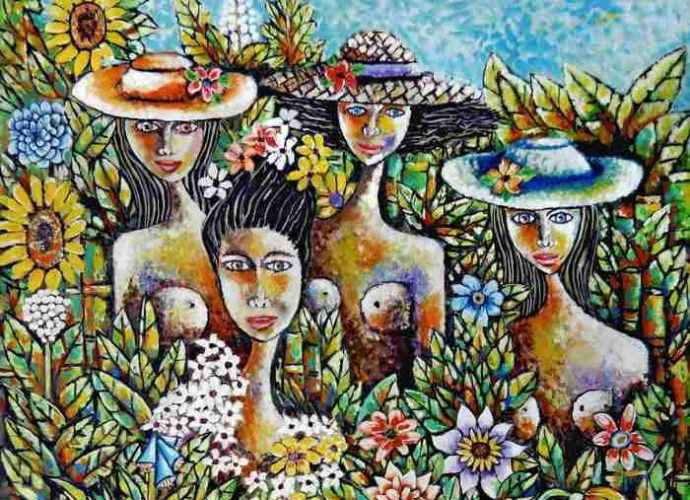 Современный кубинский художник. Antonio Perez Bornot 191