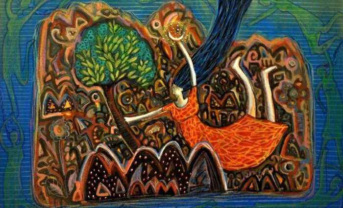 Сюрреалистические видения. Arpita Chandra 1