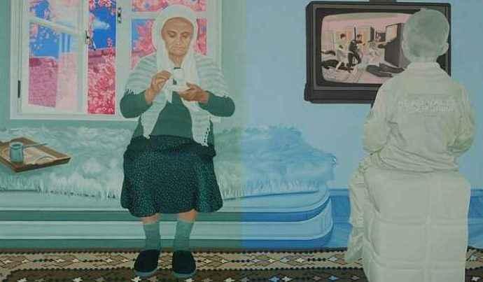 Албанский художник. Bashkim Dervishi 13