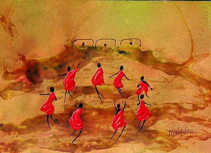 Наскальные рисунки. Bernard Ndichu Njuguna 1