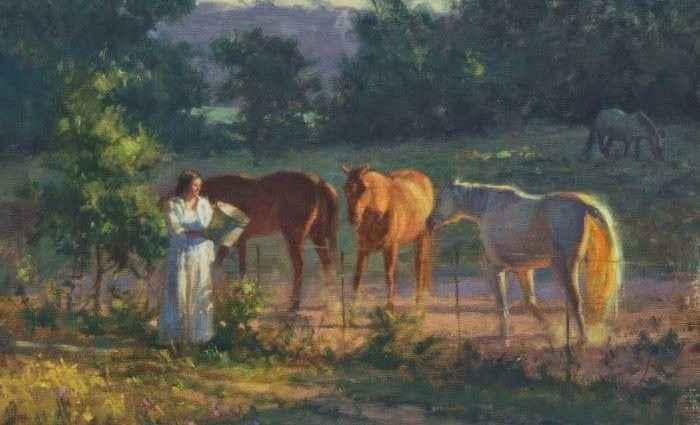 Современный американский художник. Bill Farnsworth 1
