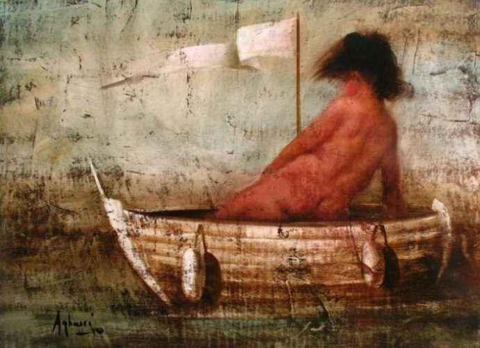Современный Рембрандт. Aghassi (Boghos Taslakian) 42