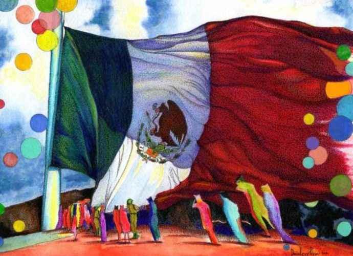 Мексиканский художник. Daniel Levy 228