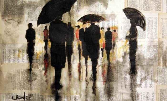 Британский профессиональный художник. Darren Crowley 1