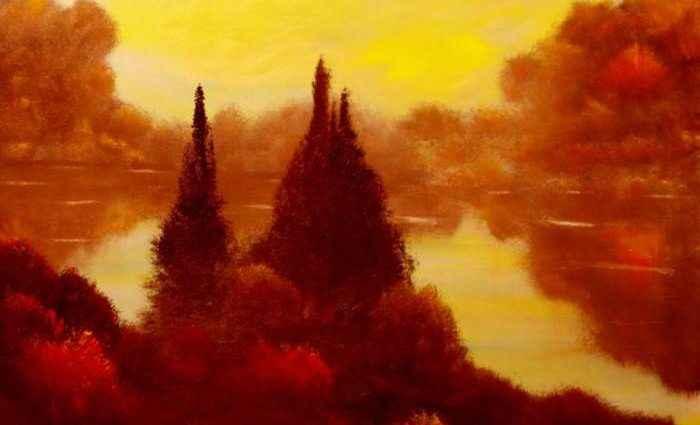 Абстрактные пейзажи. David Snider 1