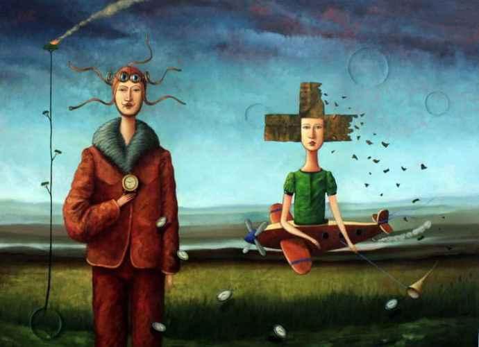 Чилийский художник. Edwin Rojas 60
