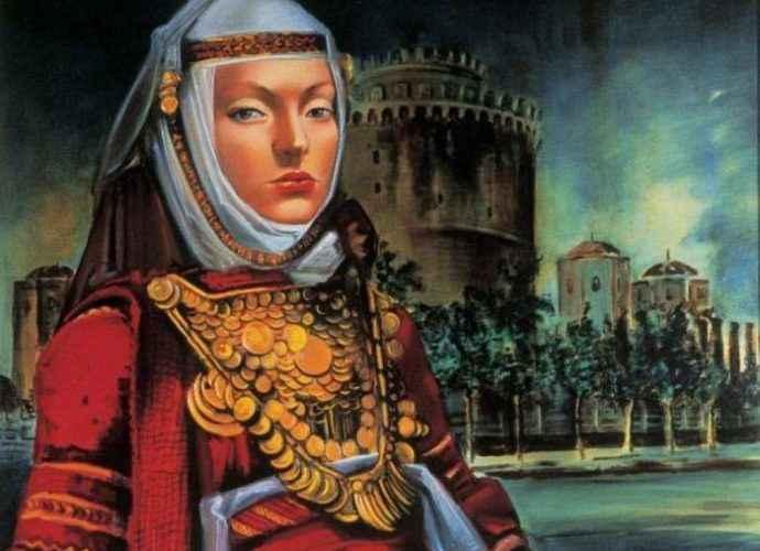 Греческий художник. Elena Navrozidou 122