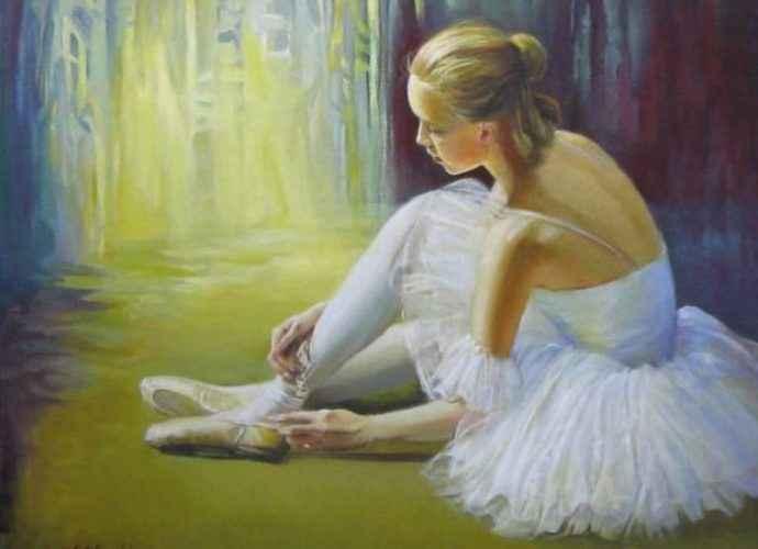 Современный румынский художник. Elena Oleniuc 146
